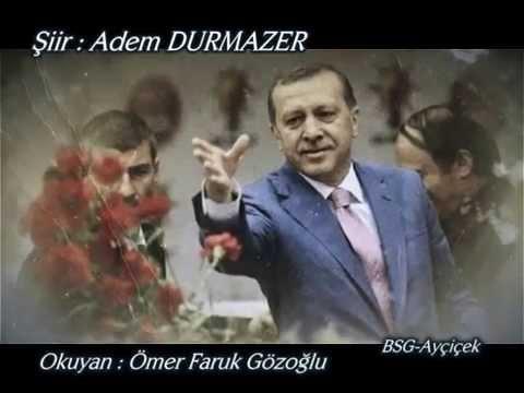 recep tayyip erdoğan şiiri yeni 10.02.2016 üzülme yiğidim bu yara bizi öldürmez adem durmazer öfg