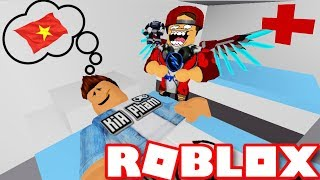Roblox | Visit Other Diseases After Winning The U23 Because Get Overdose | HOSPITAL ESCAPE OBBY | Vamy Tran