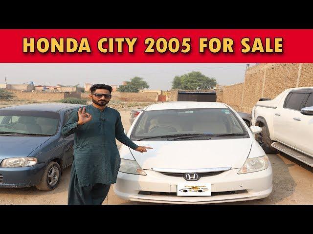 honda city 2005 model for sale