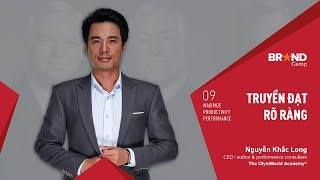 Brand Camp Trailer: Truyền đạt Rõ ràng (Mr. Nguyễn Khắc Long)