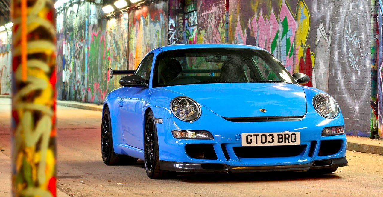 Porsche 911 Gt3 Riviera Blue Youtube