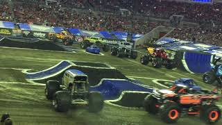 Monster Jam Tampa Truck Intros - Raymond James Stadium February 2019