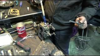 Ремонт карбюраторов  устранение ненужных отверстий