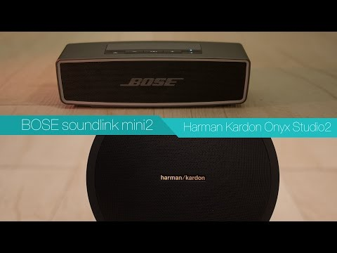 BOSE soundlink mini 2 vs Harman Kardon Onyx Studio 2