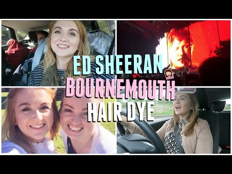 The Lost Vlog: Bournemouth, Ed Sheeran & Dying My Hair!