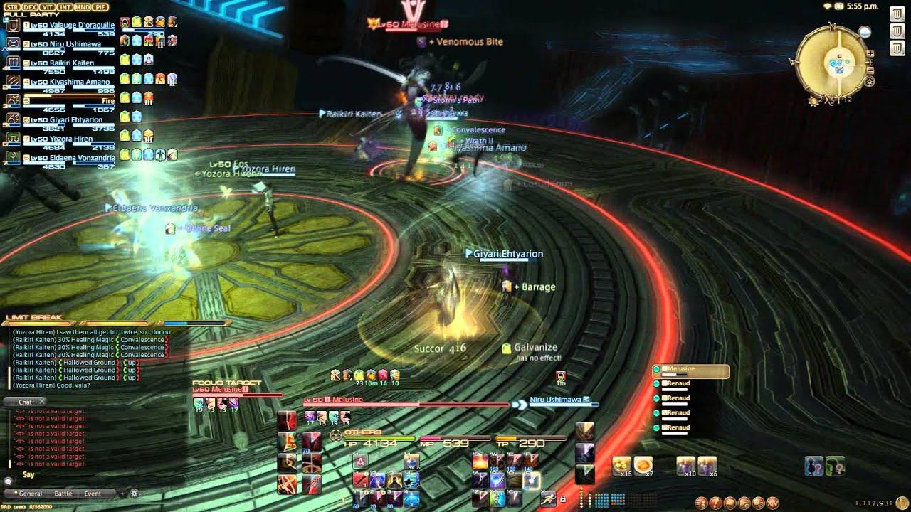 Final Fantasy XIV Turn 7 Clear 4 Stack Method
