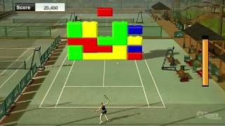 Virtua Tennis 2009 Nintendo Wii Gameplay - Block Bust