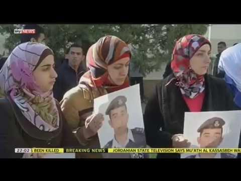 Jordanian Pilot Burned Alive In Islamic State Video