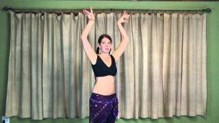 Tribal Belly Dance Lessons - Body Wave in WildCard BellyDance ITS