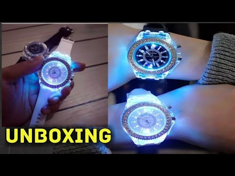 CLUB FACTORY LED WATCH || LIGHT WATCH CLUB FACTORY