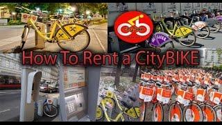 How To Rent A CityBike Vienna English HD