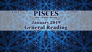PISCES | The Art of Letting Go! Jan 2019 Love, Spiritual, & General Tarot Reading