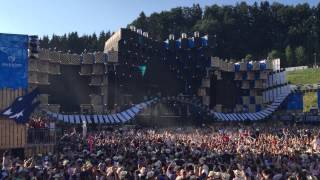 Opening Dimitri Vegas & Like Mike live at Electric Love Festival 2015