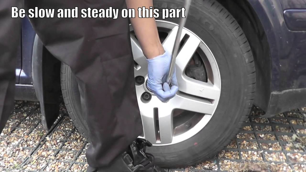 How To Remove A Locking Wheel Nut Without The Key Youtube