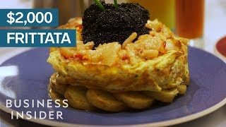 Why This Frittata Costs $2,000