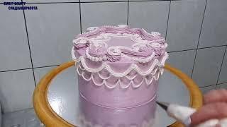 """УКРАШЕНИЕ ТОРТОВ, Торт """"МАРСЕЛЬ"""" от SWEET BEAUTY СЛАДКАЯ КРАСОТА, Cake Decoration"""