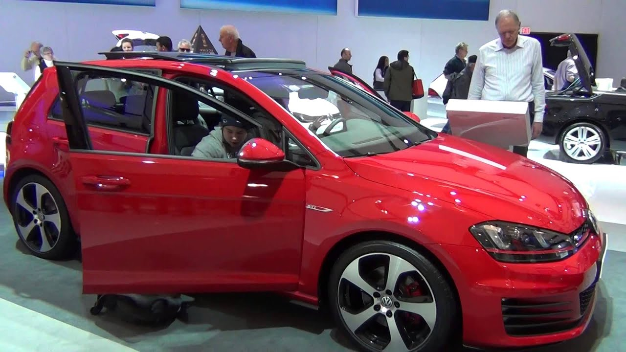 2015 vw golf gti mark vii 5 door tornado red 6 sp dsg 5 of 5 youtube. Black Bedroom Furniture Sets. Home Design Ideas