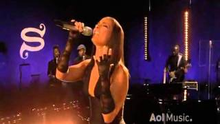 Video Alicia Keys - Try sleeping with a broken heart  Live @ AOL Music Sessions download MP3, 3GP, MP4, WEBM, AVI, FLV Juni 2018