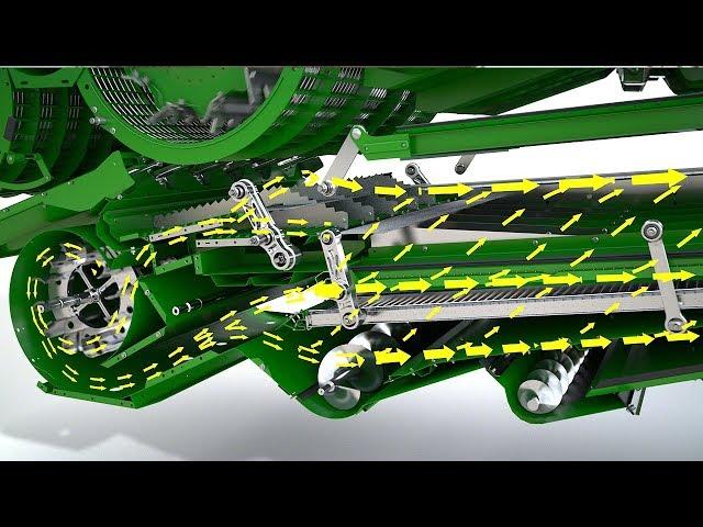 John Deere Animation af DynaFlo Plus rensning