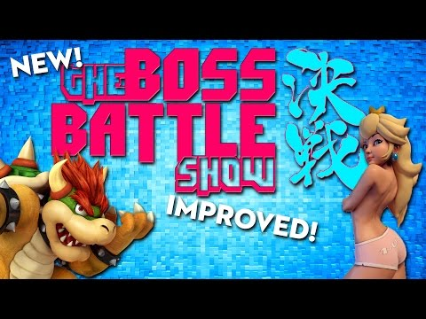 The Boss Battle Show - New! Fresh! Improved! Geekier!