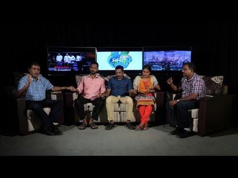 George's miraculous healing through Heavenly Feast TV Broadcast