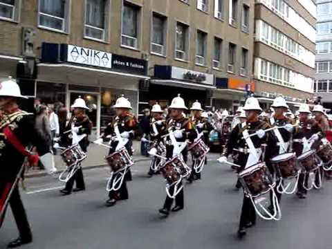 H.M. Royal Marines Band Portsmouth - Streetparade Rotterdam 2007