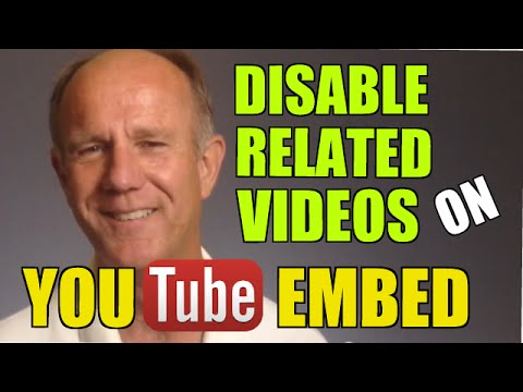 How To Disable Related Videos On Youtube Embed Tutorial