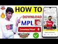 Gambar cover How to download MPL  MPL kaise download karen  How to download MPL for android  Earning App
