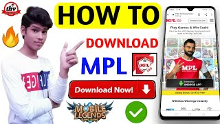 How to download MPL || MPL kaise download karen || How to download MPL for android || Earning App