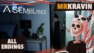 Asemblance - Mind Bending Horror Puzzle Game, Full Playthrough, All Endings