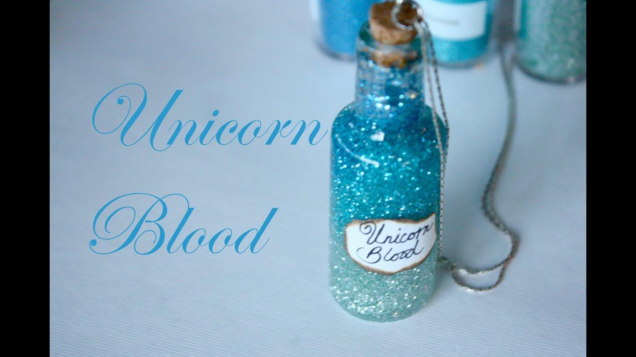 Make Halloween Decorations At Home Unicorn Blood Harry Potter Potion Ep 8 Bottle Jar
