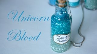 Unicorn Blood: Harry Potter Potion Ep. # 8 - Bottle Jar Tutorial