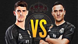 Keylor Navas Vs Thibaut Courtois   Who Is The Best?   Best Saves ● 2018|real Madrid|hd