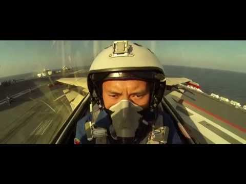 Navy Fighter Pilot Selfie