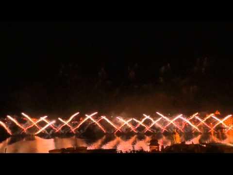 PyroEmotions Malta Internationales Fireworksfestival 2015 Grand Harbour