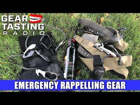 Emergency Rappelling Gear - Gear Tasting Radio 66