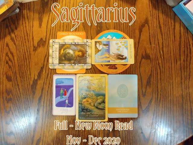 SAGITTARIUS: FULL - NEW MOON 7 CARD DRAW= BALANCE + JEALOUSY + ANCHORING THE LIGHT + NOV-DEC 2020