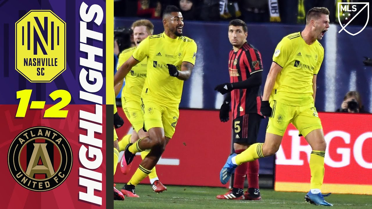 Nashville SC 1-2 Atlanta United   Zimmerman Scores, Josef Martinez Tears ACL   MLS HIGHLIGHTS