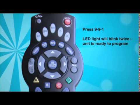 Programming Your Comporium Universal Remote