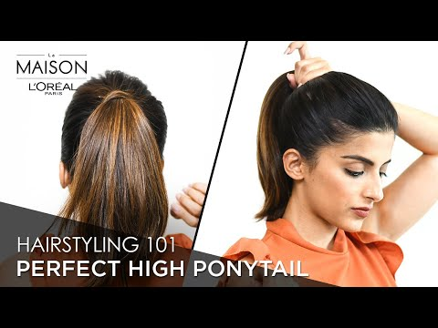 how-to-make-the-perfect-high-ponytail-ft.-knot-me-pretty|-easy-everyday-hairstyles-|-l'oréal-paris