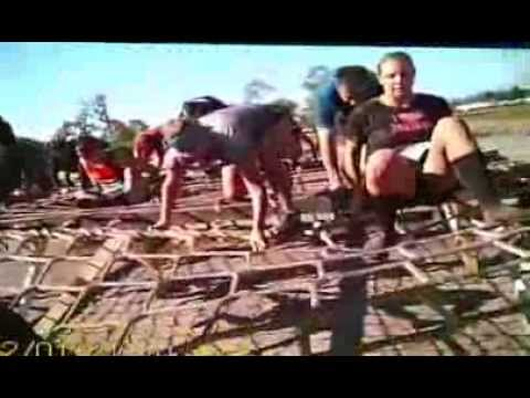 mudRUNbeer conquering the Warrior Dash 2012- Lake Wales FL