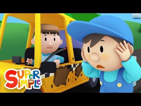 CAR WASH FOR KIDS | Taxi Cab Car Wash | Vehicle Cartoon for Children