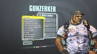 Borderlands 2 - Salvadore The Gunzerker's Greasy Grunt Pack