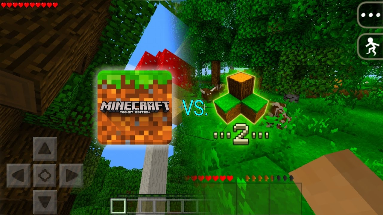 Minecraft Vs Survivalcraft