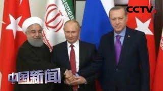 [中国新闻] 俄土伊就叙利亚问题举行新一轮三方峰会   CCTV中文国际