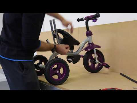 Surreal Easy / Deluxe Kids Trike Tricycle Install Assemble