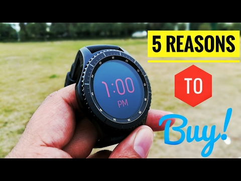 5 reasons to buy Samsung Gear S3 Frontier!