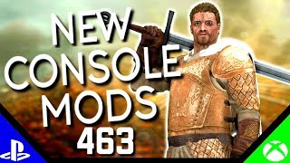 Skyrim Special Edition: ▶️5 BRAND NEW CONSOLE MODS◀️ #462 (PS4/XB1)