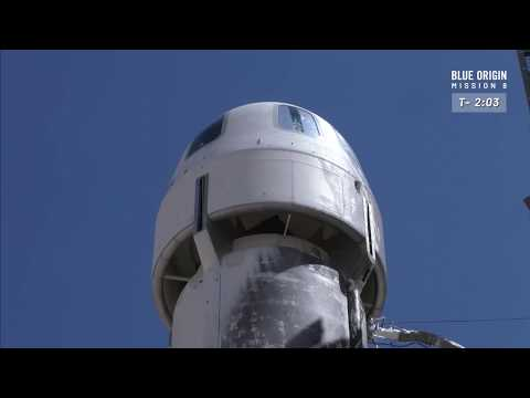 Replay of New Shepard Mission 8 Livestream