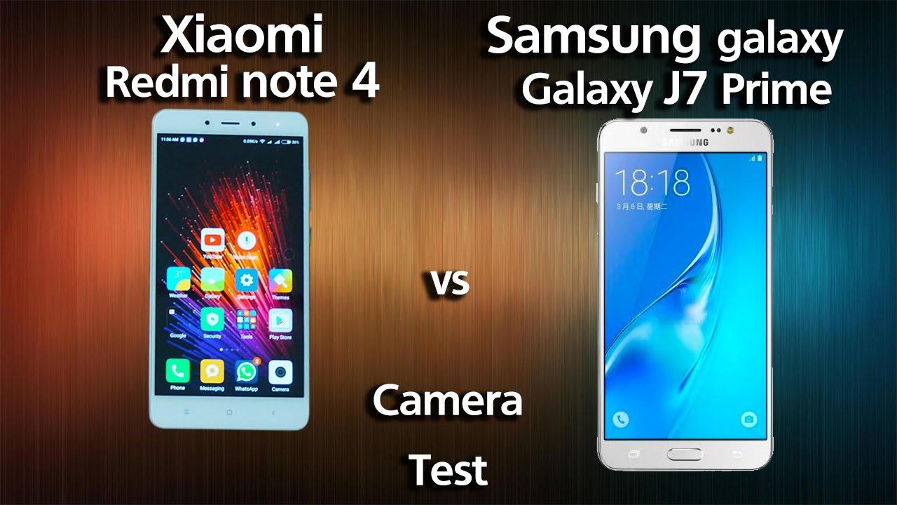samsung galaxy j7 prime vs xiaomi redmi note 4   camera